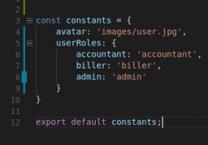 Vuejs: Constants from back end API